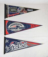Vintage New England Patriots Felt Pennant 2004 Super Bowl 2007 WinCraft