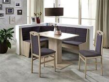 Eckbankgruppe Tischgruppe Essecke Eckbank Tisch Stühle Sonoma Eiche Corinna