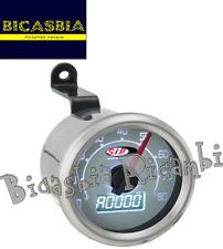 6693 - CONTACHILOMETRI DIGITALE SIP A 80 KM QUADRANTE BIANCO VESPA 50 R L N