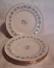 Set of 6 Royal Malvern England Bone China Salad Plates