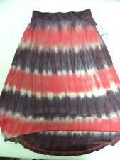 Roxy Girls Sun Shining Skirts Shorts Sz 10 Surf Skate New Pink