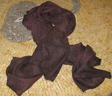 Moroccan Scarf - Unisex Truffle Scarves - Truffle Brown Scarf - Scarf in Truffle