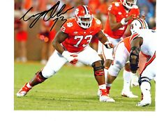 Tremayne Anchrum Jr. Clemson Tigers signed autographed 8x10 football photo