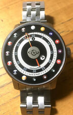 GEVRIL LTD EDITION GV2 GIRONDOLA 4034AUTOMATIC STAINLESS STEEL BRACELET RARE NEW
