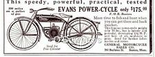 1921 Vintage ad Evans Power-Cycle