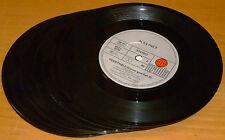 """20 x 7""""Single Schallplatten (kleines Mittelloch) zur  Deko der Wände, Basteln..."""