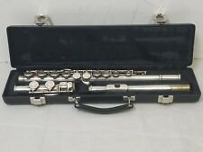 Blessing Student Flute Silver Plated w/Gemeinhardt case