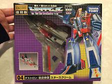 Takara Transformers Starscream G1 Reissue Figure NICE