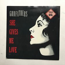 THE GODFATHERS - SHE GIVES ME LOVE * 7 INCH VINYL * FREE P&P UK * EPIC - GFT 4 *