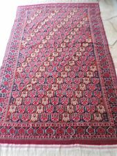 6x9ft. Handmade Russian Oriental Tribal Wool Rug