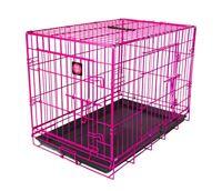 Pink Dog Training & Travel Crates By Dog Life