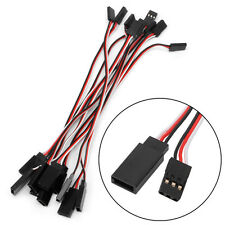 150mm Lead Extension Servo Wire Cable Cord For Futaba JR Male To Female 10pcs