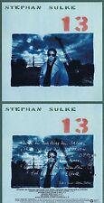"""Stephan Sulke """"13"""" Von 1987! Mit 10 Songs! Digital remastered! Neue CD"""