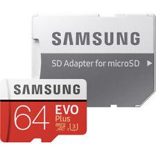 Samsung EVO Plus 64GB, Class 10 20MB/s - MicroSDHC Card - MB-MC64GA/AM