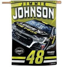 "JIMMIE JOHNSON #48 LOWE'S FOR PROS 28""X40"" VERTICAL BANNER FLAG NEW WINCRAFT"