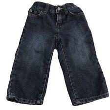 The Childrens place 1989 Jeans 12-18 months straight dark blue denim baby