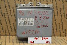 1996 Mercedes Benz E320 Engine Computer Unit ECU 0215455132 Module 961-3F1