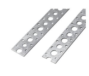 Lochband Montageband 17 mm Stahl verzinkt Montagelochband Montage-Lochband Rolle