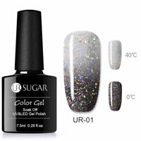 UR SUGAR 7.5ml Thermal Gel Polish Color Changing Soak Off UV Gel Nail Varnish #1