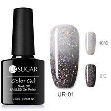 UR SUGAR 7.5ml Thermal Gel Polish Color Changing Soak Off UV Gel Nail Varnish #1