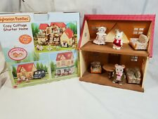 Sylvanian Families Starter Home Cottage Set Cosy Furniture mouse family boxed