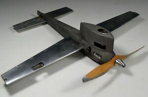 Tether Gas Powered Speed Plane Airplane Aviation Model Machine Age 1950