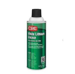 White Lithium Grease,10 oz CRC 03080