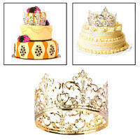 Tiara Crown Party Cake Decoration Crown Hair Ornaments Wedding Supplies Decor