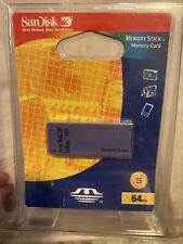 SanDisk 64 MB Memory Stick (Factory Sealed )