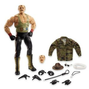 2021 SDCC EXCLUSIVE MATTEL WWE ULTIMATE EDITION SGT. SLAUGHTER - CONFIRMED ORDER