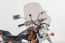 "Honda CB400 CB 400 500 550 K/F - Smoke Tinted 20"" Sport Windshield"