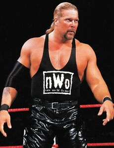 Kevin Nash WWE Signed Ring Worn Used NWO Faux Leather Pants WWF WCW COA Diesel