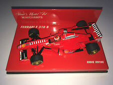 Minichamps F1 1/43 Ferrari F310 B Eddie Irvine