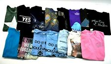 Lot Of 15 Womens Size Medium Tops Short Sleeve Basic Graphic T-Shirts Summer