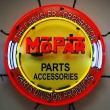 Mopar Parts and Accessories Neon Sign