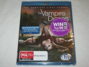 The Vampire Diaries Complete Season 1 - Brand New & Sealed - Region B - Blu Ray