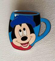 Disney WDW Spotlight Mug Collection Sorcerer Apprentice Mickey Mouse Pin LE 2000