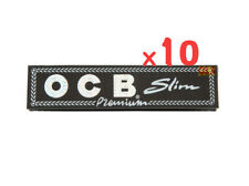 OCB Premium Black King Size Slim Smoking Cigarette Rolling Papers NEW STOCK**