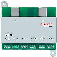 Marklin 60881 S 88 Decoder/Feedback Module For 3-Rail AC Layouts