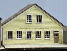 WHARF LUMBER COMPANY O On30 Model Railroad Unpainted Structure Laser Kit DF429