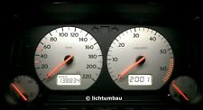 VW Golf 3 Tacho BLAU WEISS ROT LED 1.6 1.4 silber edition 75PS 60PS 1H0919865A