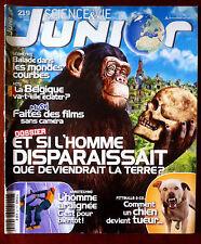 Science et vie junior n°219; Dossier; Et si l'homme disparaissait ?/ Chien Tueur