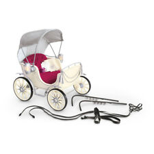 """American Girl MY AG PRETTY CITY CARRIAGE for 18"""" Doll Wagon Sleigh NEW"""