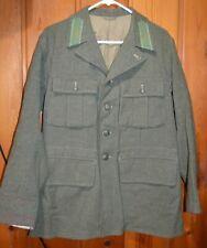 WW2 SWEDISH RIFLE JACKET ARMY MILITARY WINTER WOOL 1941 A.C.B 100U I.16