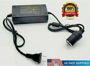110V AC to 12V DC Car Converter Cigarette Lighter Socket 60W AC Power Adapter