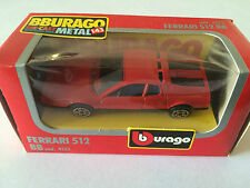 Bburago Burago Ferrari 512 BB Cod. 4133 Years 1983 Scale 1/43 in Box