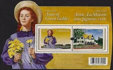 Canada Stamps — Souvenir Sheet — Anne of Green Gables #2276 — MNH