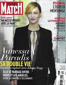 Paris Match Magazine Vanessa Paradis Frida Khalo Xavier Niel Maxime le Forestier