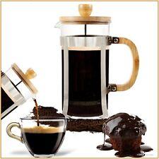 French Press Coffee Maker Leaf Tea Carafe Stainless Steel Filter 34oz Kettle Pot