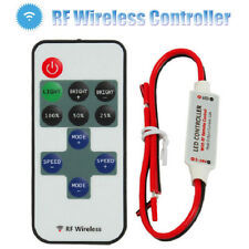 12V Mini LED Strip Light Dimmer Controller with On Off Switch for 3528 5050